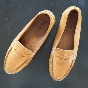 Mercanti Florentini cognac driving penny loafer